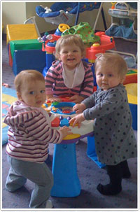 Infant child care programs
